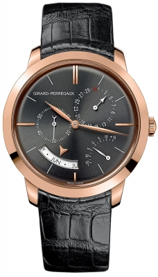Girard Perregaux 1966 Annual Calendar Equation Of Time 49538-52-231-bk6a