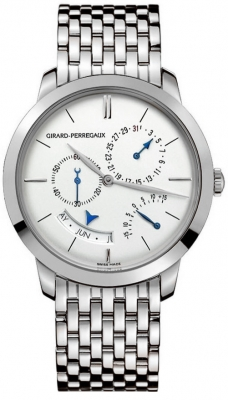 Girard Perregaux 1966 Annual Calendar Equation Of Time 49538-53-133-53a