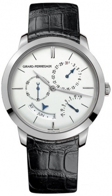 Girard Perregaux 1966 Annual Calendar Equation Of Time 49538-53-133-bk6a