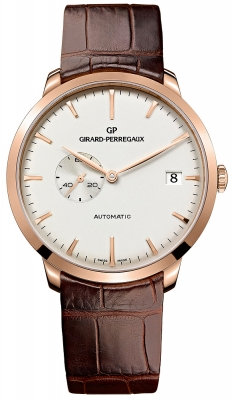 Girard Perregaux 1966 Small Seconds Date 49543-52-131-bkba