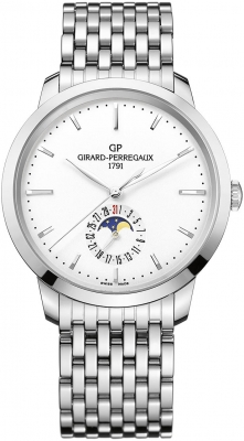 Girard Perregaux 1966 Date, Moon Phases 40mm 49545-11-131-11A