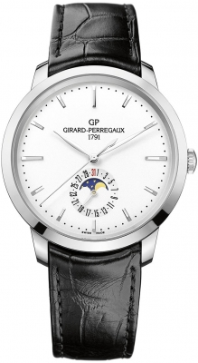 Girard Perregaux 1966 Date, Moon Phases 40mm 49545-11-131-bb60