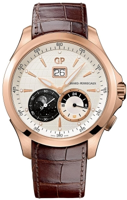 Girard Perregaux Traveller Large Date Moonphases GMT 49655-52-131-bb6a
