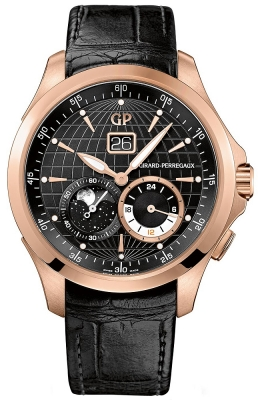 Girard Perregaux Traveller Large Date Moonphases GMT 49655-52-631-bb6a