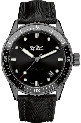 Blancpain Fifty Fathoms Bathyscaphe Automatic 43mm 5000-0130-b52a