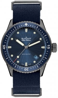 Blancpain Fifty Fathoms Bathyscaphe Automatic 43mm 5000-0240-naoa