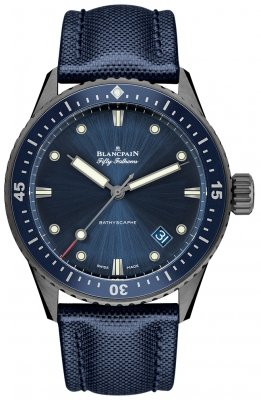 Blancpain Fifty Fathoms Bathyscaphe Automatic 43mm 5000-0240-o52a