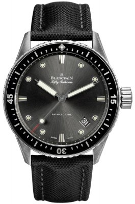 Blancpain Fifty Fathoms Bathyscaphe Automatic 43mm 5000-1110-b52a