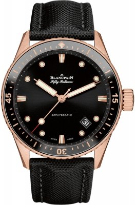 Blancpain Fifty Fathoms Bathyscaphe Automatic 43mm 5000-36s30-b52a
