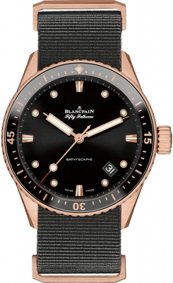 Blancpain Fifty Fathoms Bathyscaphe Automatic 43mm 5000-36s30-naba