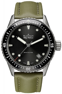 Blancpain Fifty Fathoms Bathyscaphe Automatic 43mm 5000-1230-k52a