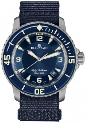 Blancpain Fifty Fathoms Automatic 5015-12b40-naoa
