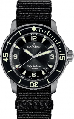 Blancpain Fifty Fathoms Automatic 5015-12b30-naba