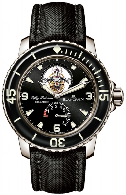 Blancpain Fifty Fathoms Tourbillon 8 Days 5025-1530-52b