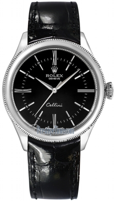 Rolex Cellini Time 39mm 50509 Black