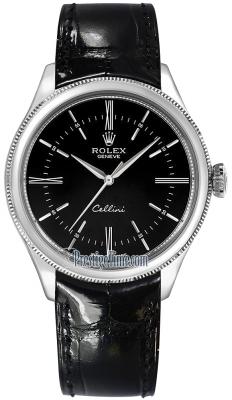 Rolex Cellini Time 39mm 50509 Black