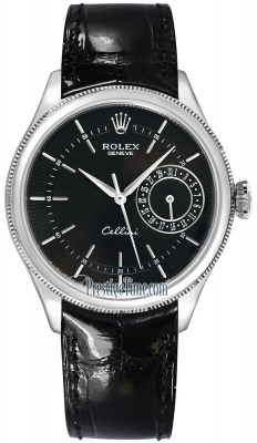 Rolex Cellini Date 39mm 50519 Black