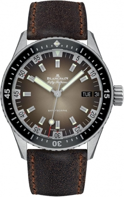 Blancpain Fifty Fathoms Bathyscaphe Day Date 70's 43mm 5052-1110-63a
