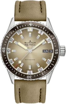 Blancpain Fifty Fathoms Bathyscaphe Day Date 70's 43mm 5052-1146-E52A