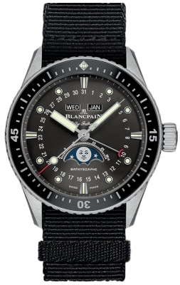 Blancpain Fifty Fathoms Bathyscaphe Complete Calendar 43mm 5054-1110-naba