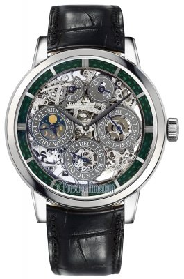 Jaeger LeCoultre Master Grande Tradition Perpetual Calendar Skeleton 8 Days 5063540
