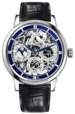 Jaeger LeCoultre Master Grande Tradition Perpetual Calendar Skeleton 8 Days 50635sq