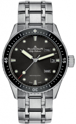 Blancpain Fifty Fathoms Bathyscaphe Annual Calendar 43mm 5071-1110-70b