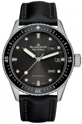 Blancpain Fifty Fathoms Bathyscaphe Annual Calendar 43mm 5071-1110-b52a