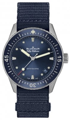 Blancpain Fifty Fathoms Bathyscaphe Automatic 38mm 5100-1140-naoa