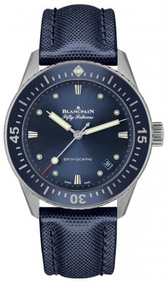 Blancpain Fifty Fathoms Bathyscaphe Automatic 38mm 5100-1140-o52a