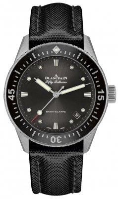 Blancpain Fifty Fathoms Bathyscaphe Automatic 38mm 5100b-1110-b52a