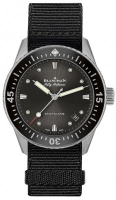Blancpain Fifty Fathoms Bathyscaphe Automatic 38mm 5100b-1110-naba