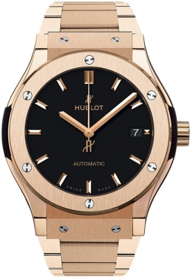 Hublot Classic Fusion Automatic Gold 45mm 511.ox.1181.ox