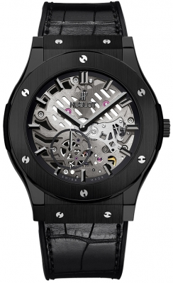 Hublot Classic Fusion Classico Ultra Thin Skeleton Ceramic 45mm 515.cm.0140.lr