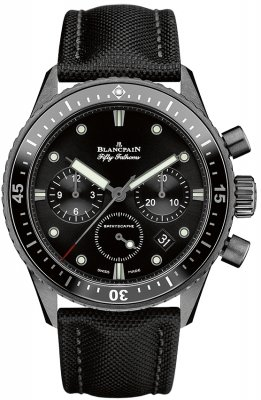 Blancpain Fifty Fathoms Bathyscaphe Flyback Chronograph 43mm 5200-0130-b52a