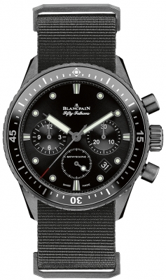 Blancpain Fifty Fathoms Bathyscaphe Flyback Chronograph 43mm 5200-0130-naba