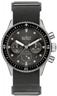 Blancpain Fifty Fathoms Bathyscaphe Flyback Chronograph 43mm 5200-1110-naba