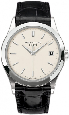 7dd40bd9f8b 5196g Patek Philippe Calatrava Mens Watch