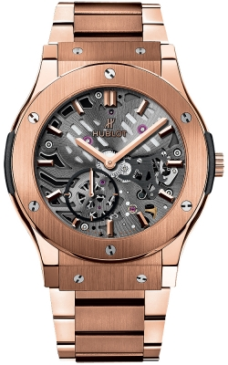 Hublot Classic Fusion Classico Ultra Thin Skeleton 42mm 545.ox.0180.ox
