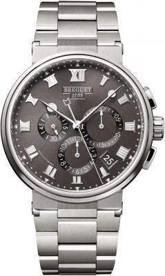 Breguet Marine Chronograph 42.3mm 5527ti/g2/tw0
