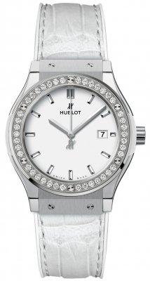 Hublot Classic Fusion Quartz Titanium 33mm 581.ne.2010.lr.1204