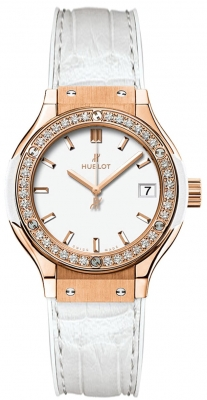 Hublot Classic Fusion Quartz Gold 33mm 581.oe.2080.lr.1204