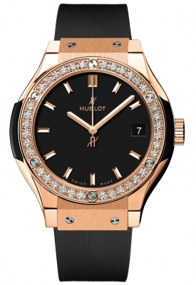 Hublot Classic Fusion Quartz Gold 33mm 581.ox.1181.rx.1104