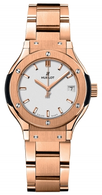 Hublot Classic Fusion Quartz Gold 33mm 581.ox.2611.ox