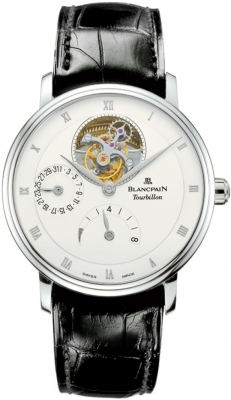 Blancpain Villeret Tourbillon 8 Day Power Reserve  6025-1542-55b