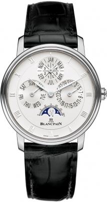 Blancpain Villeret Perpetual Calendar - 38mm 6057-1542-55b