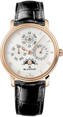 Blancpain Villeret Perpetual Calendar - 38mm 6057-3642-53b