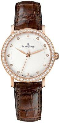 Blancpain Villeret Ultra Slim Ladies Automatic 29mm 6102-2987-55