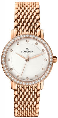 Blancpain Villeret Ultra Slim Ladies Automatic 29mm 6102-2987a-mmb