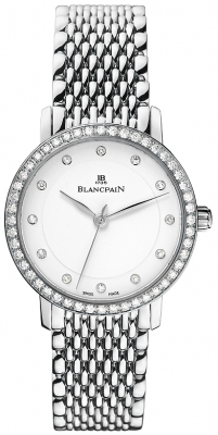Blancpain Villeret Ultra Slim Ladies Automatic 29mm 6102-4628a-mmb
